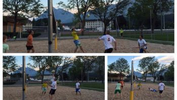 Permalink auf:Polysportives Training / Beachvolleyball